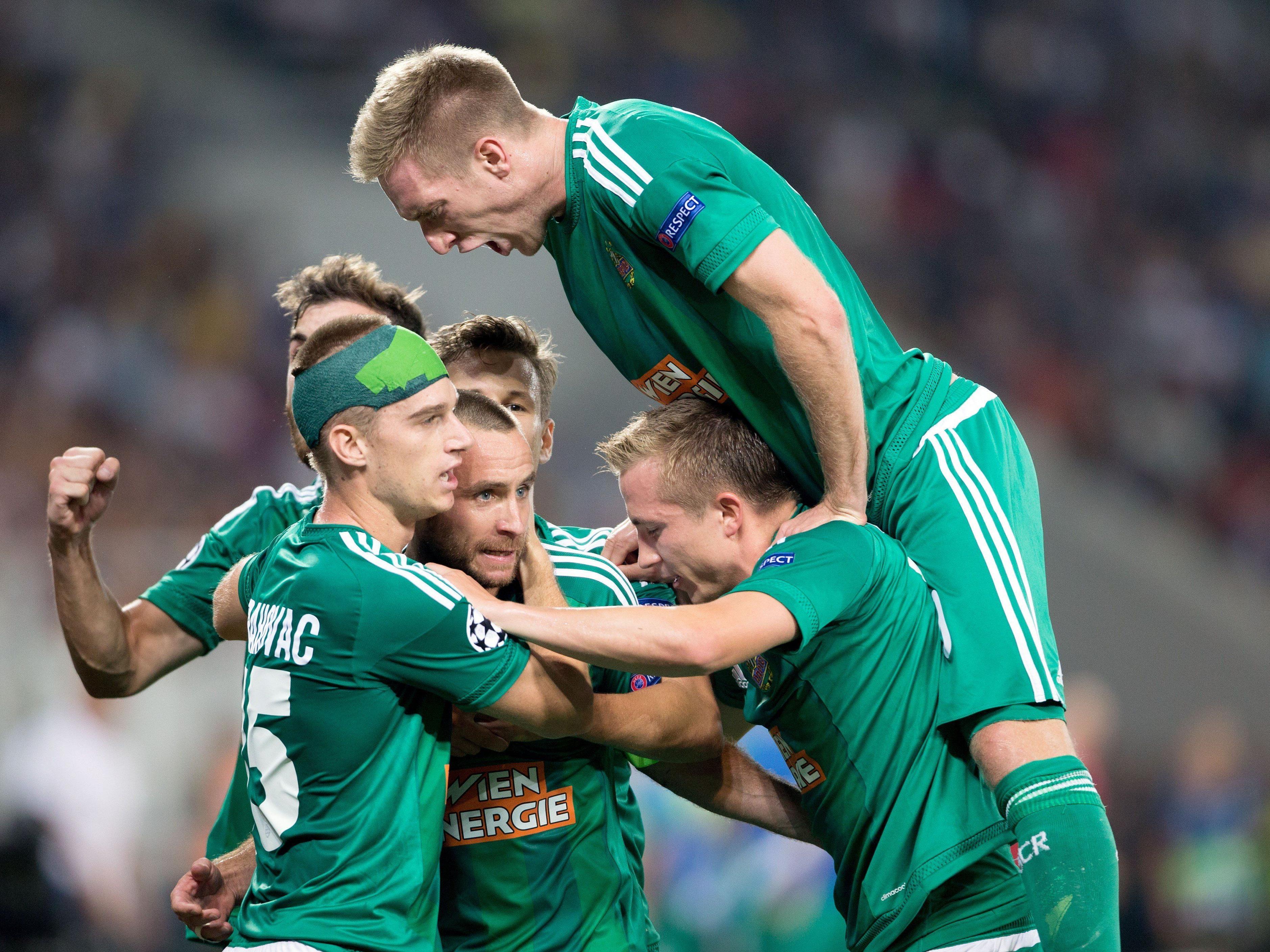 Rapid darf sich auf einen Herbst in Fußball-Europa freuen.