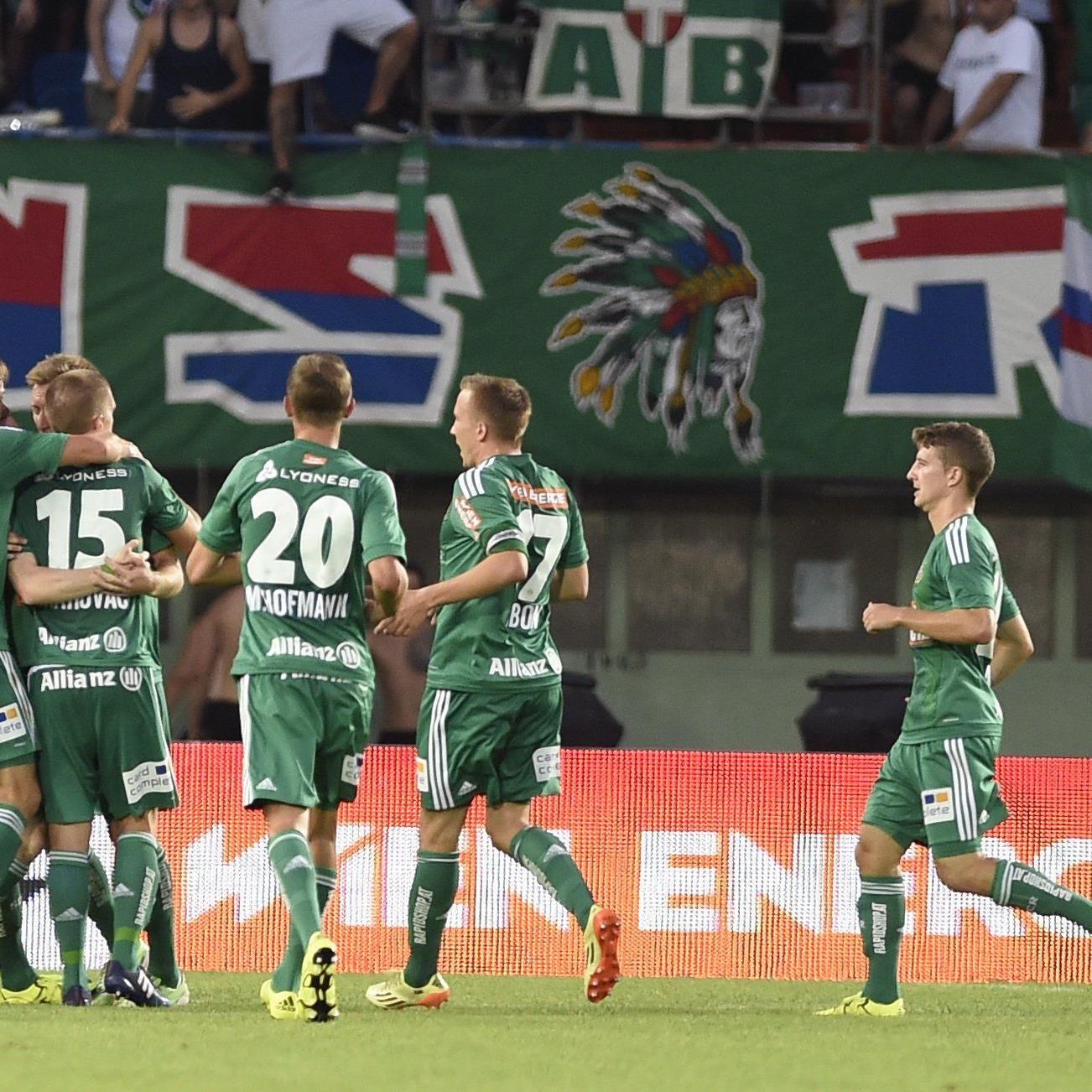 Rapid Wien setzte sich in der 3. Runde der Fußball-Bundesliga gegen WAC mit 2:1 durch.