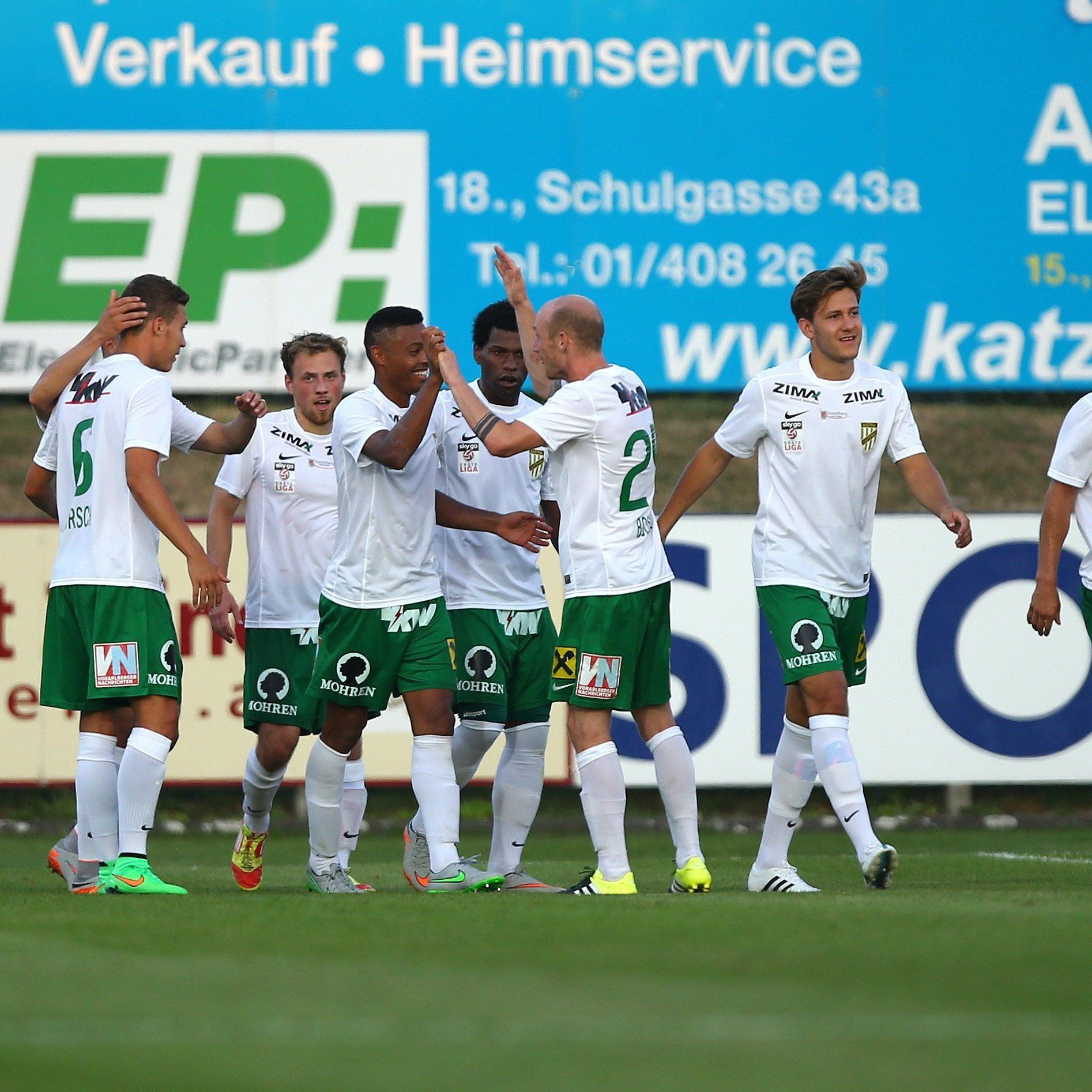 Der Austria gelang nach zwei Niederlagen in Folge (gegen Kapfenberg und St. Pölten) zuletzt ein Befreiungsschlag gegen den FAC (3:1).