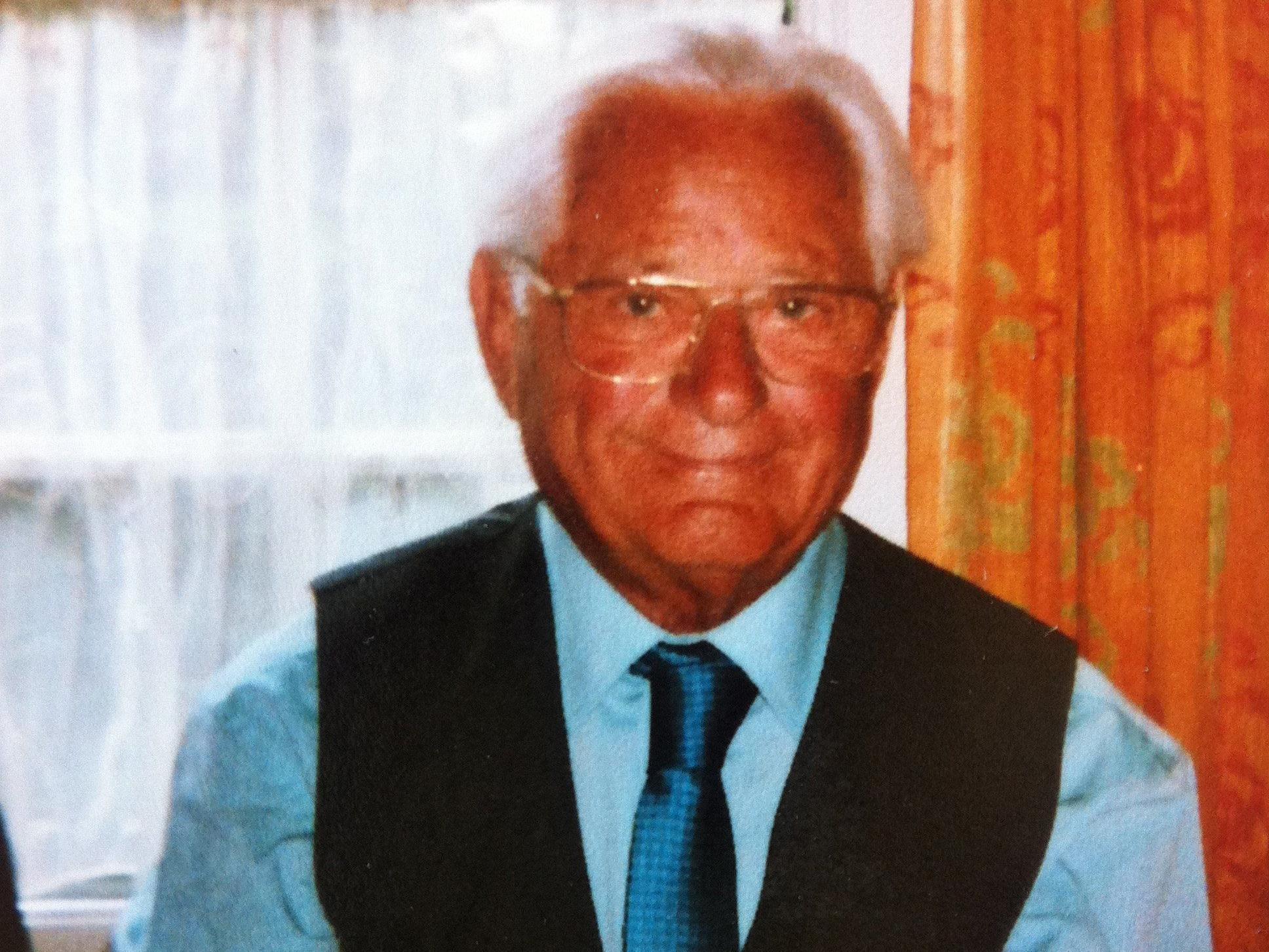 Gratulation Egon Hirschauer zum Geburtstag.