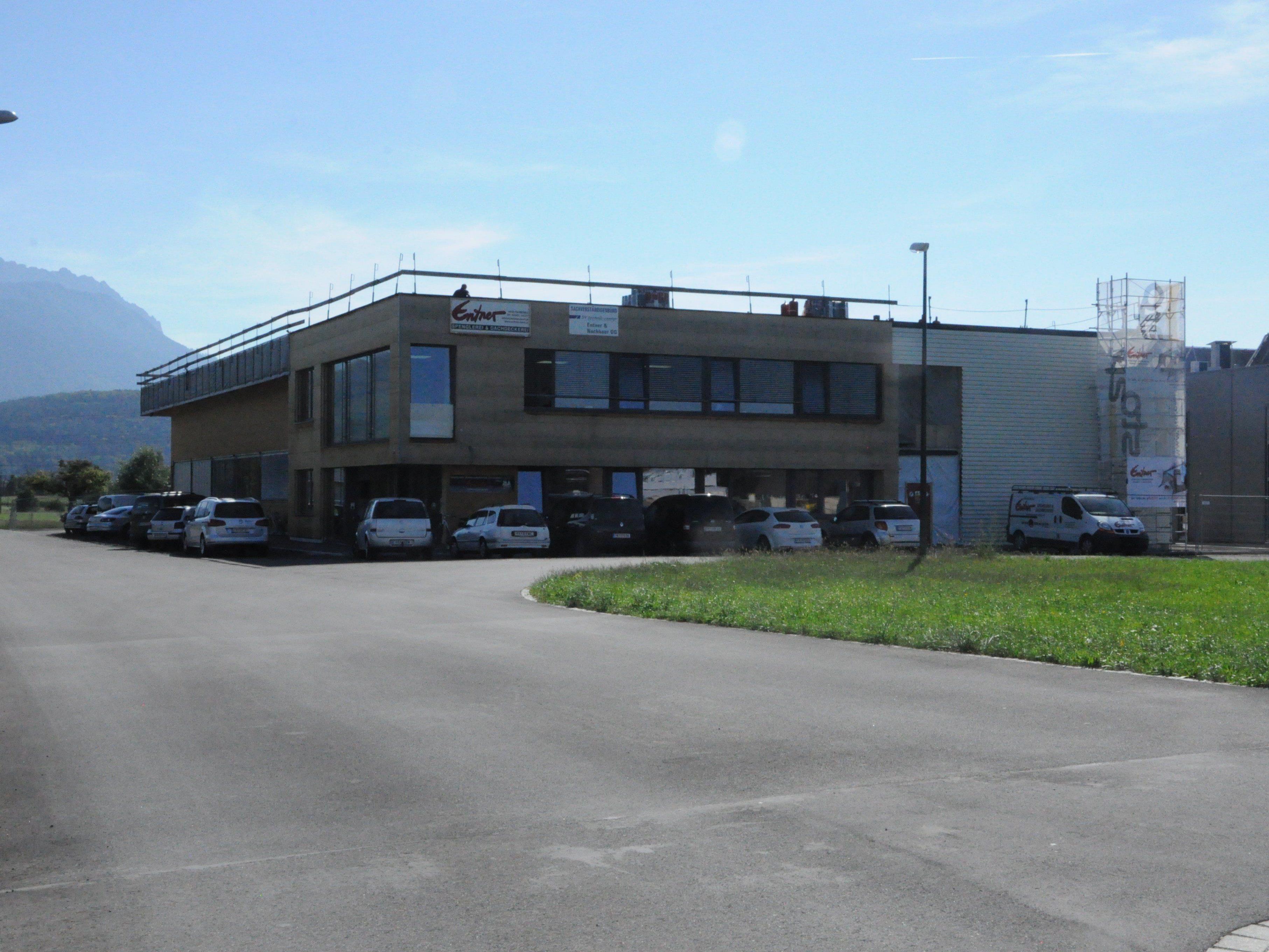 Das Rankweiler Traditionsunternehmen Entner Dach siedelt in der Impulszone an.