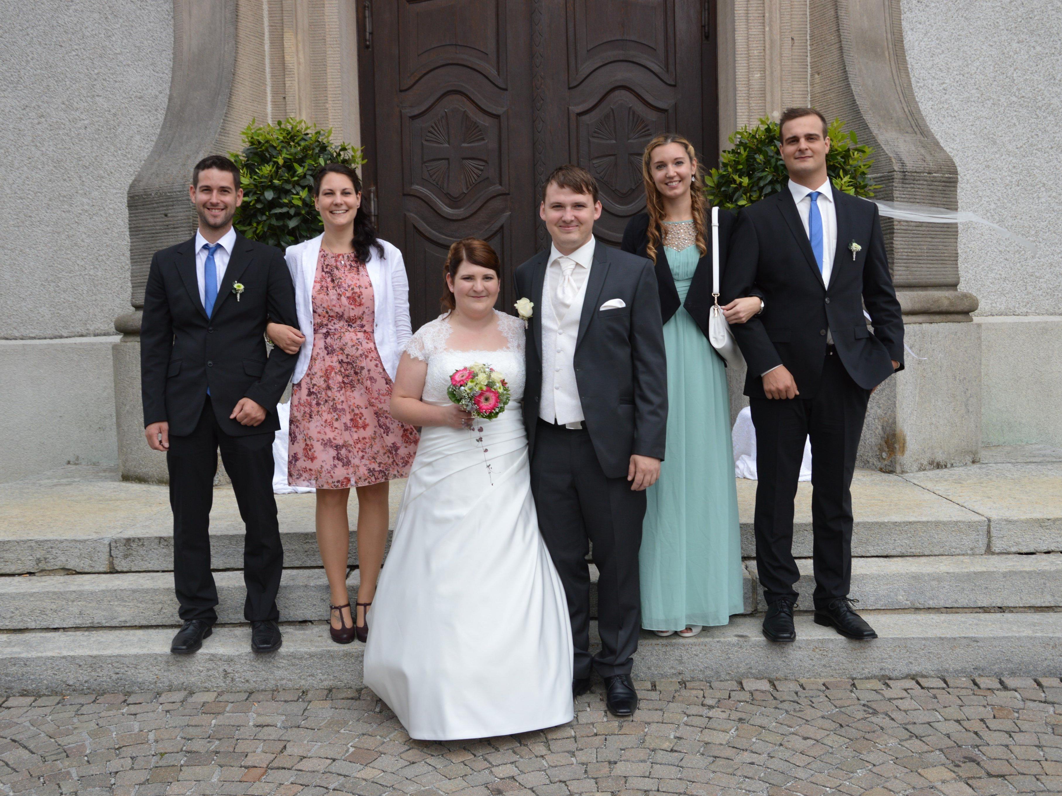 Carmen Vetter und Siegfried Wurmitzer feierten Hochzeit