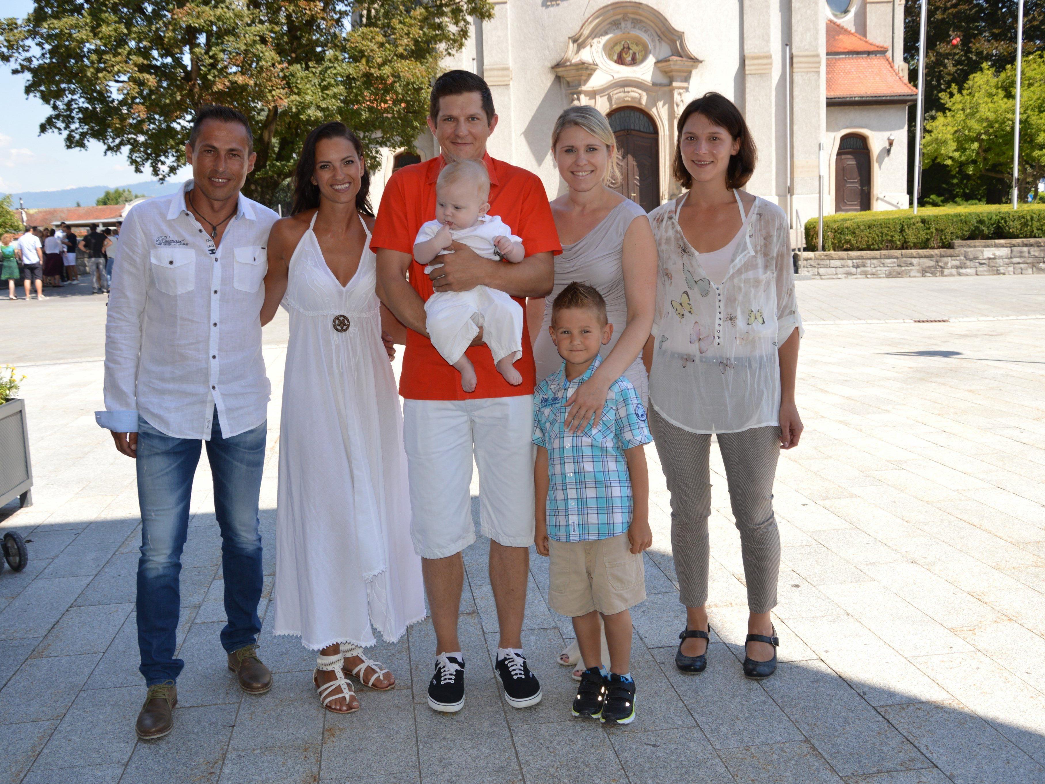 Tiago Carli empfing die Taufe