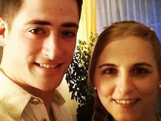 Christina und Thomas, das Brautpaar, sind beide Mitgleider der Feuerwehr Hohenems.