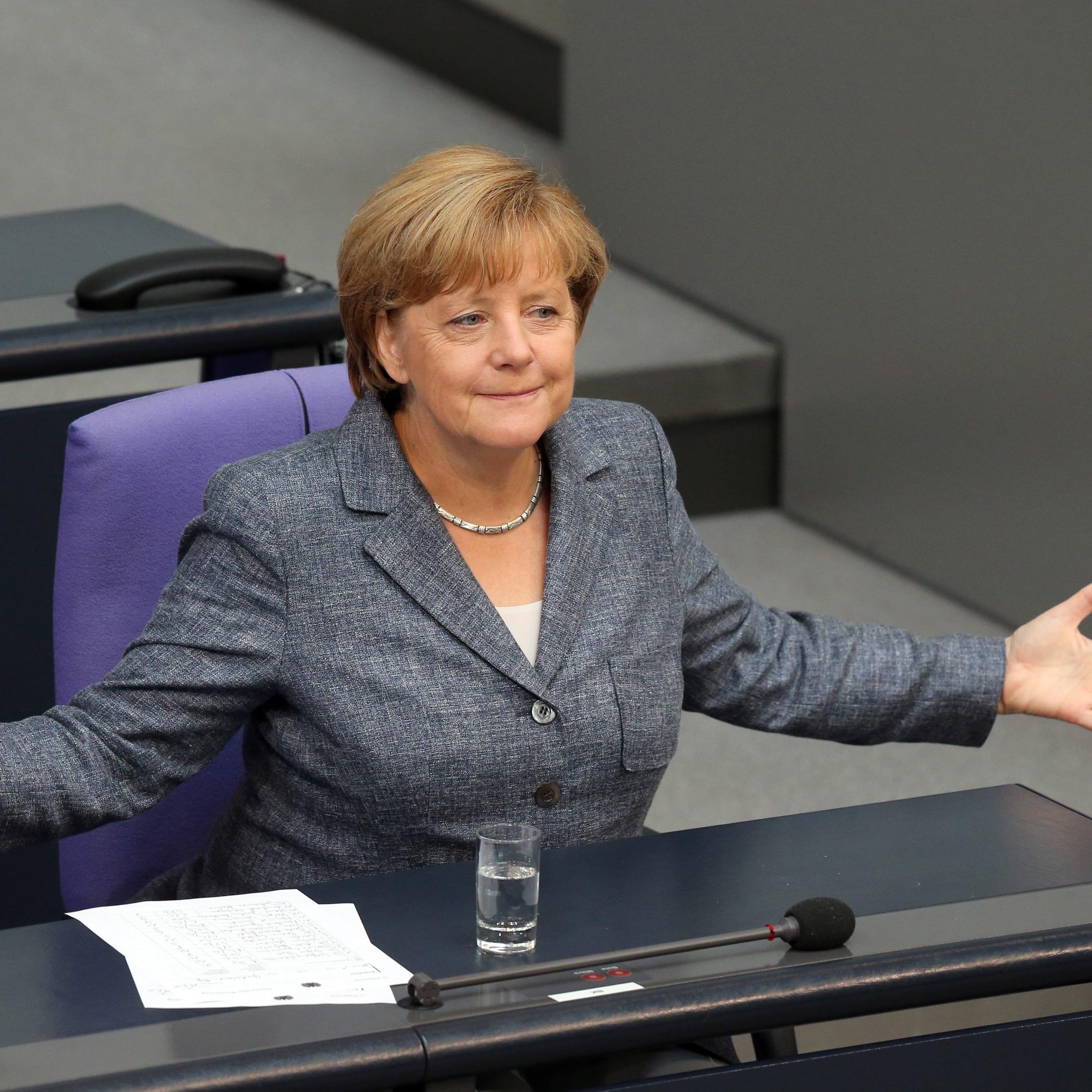 Der deutsche Bundestag hat über das Hilfspaket abgestimmt.