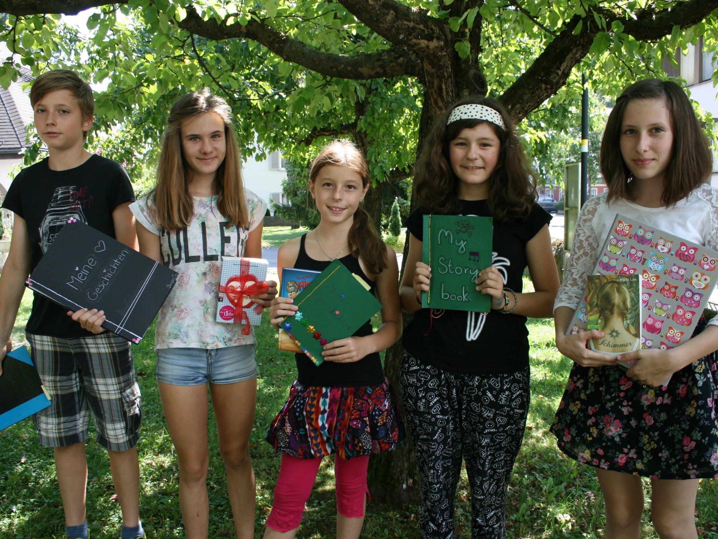 Sommerschreibwerkstatt für Kinder im Schlosserhus Rankweil.