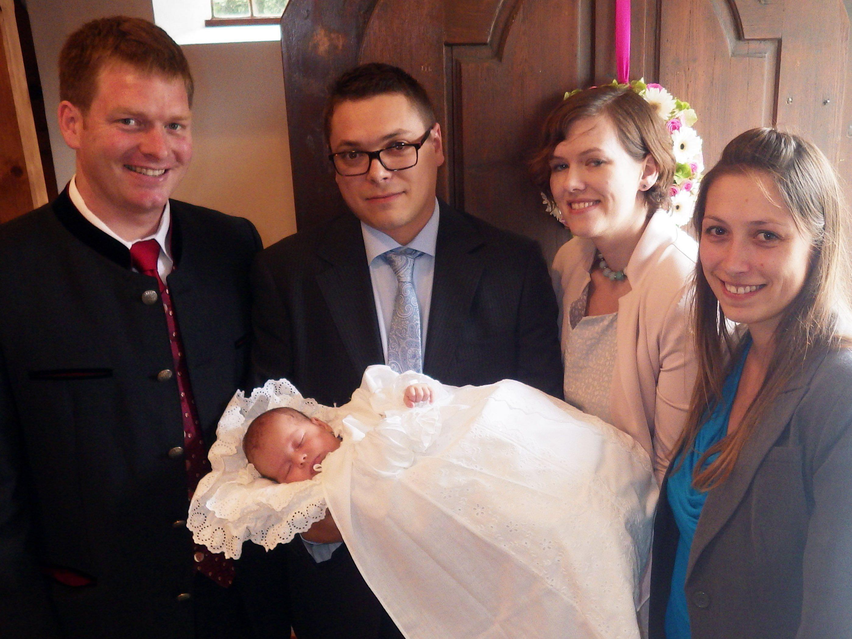 Sarah wurde getauft