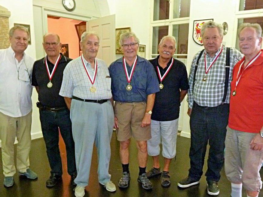vl. Ing. Reinhold Gruber, Josef Kohler, Helmut Sinz, Bruno Dreher, Georg Macek, Hubert Steurer u. Werner Mohr.