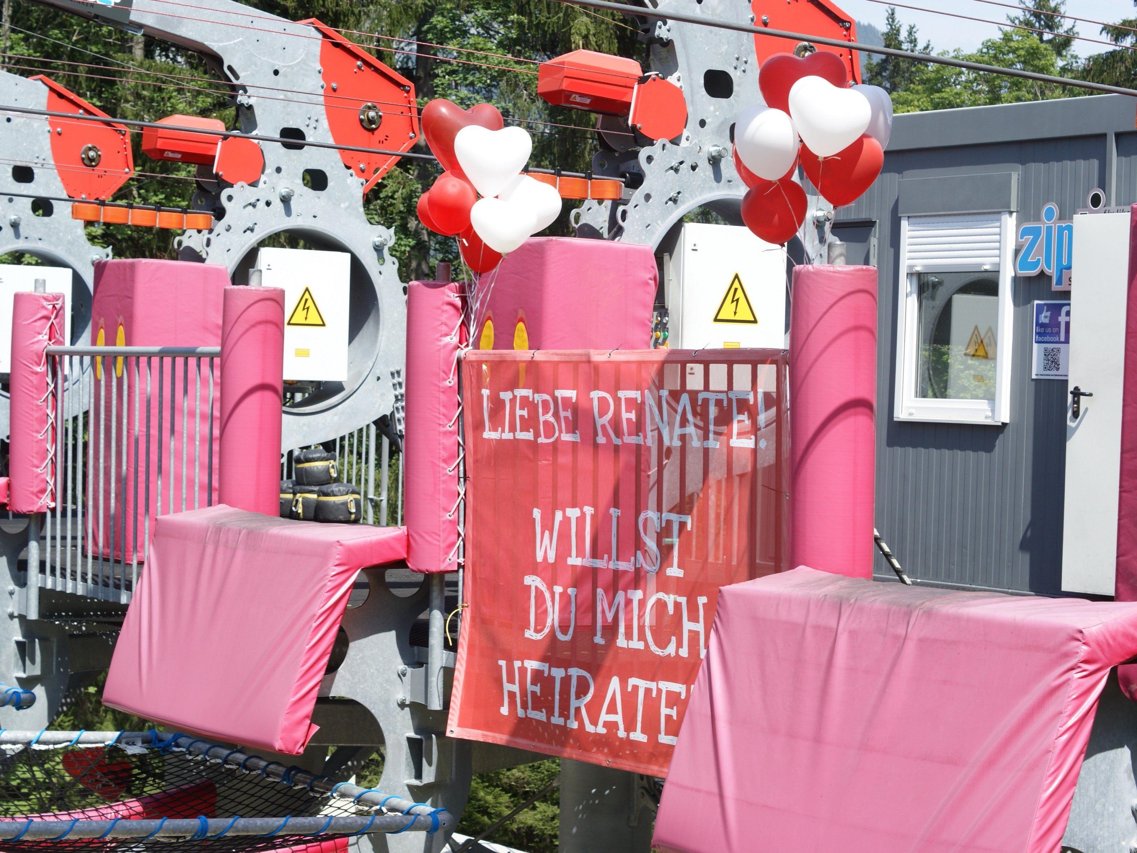 In der Steiermark gab es einen herzzerreißenden Heiratsantrag zu bestaunen.