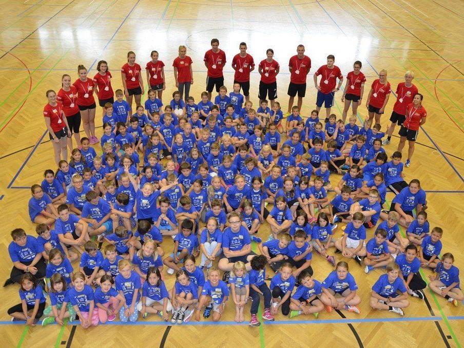 """25 Camps in 18 verschiedenen Gemeinden standen auf dem Programm des Kindersportfestivals von """"Abenteuer Sportcamp""""."""