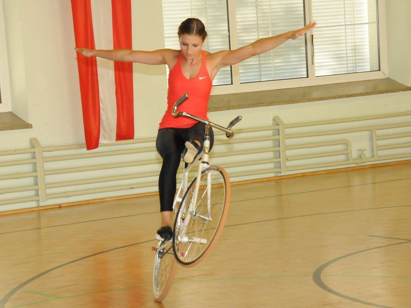 Die Meiningerin Adriana Mathis wurde Zweite in Hohenems.