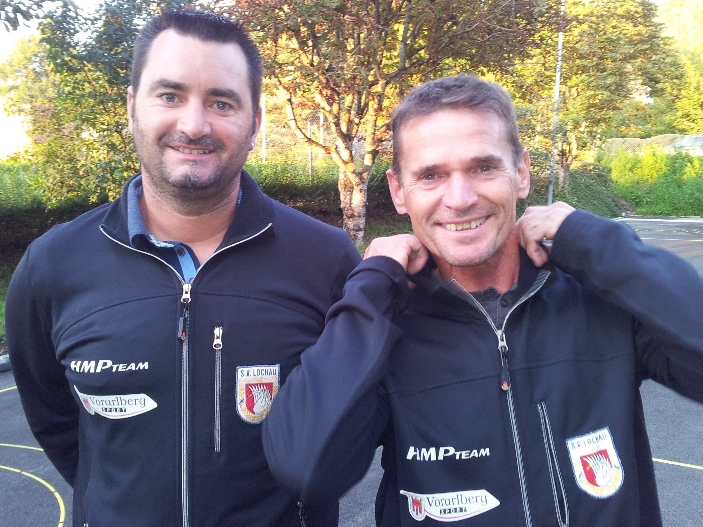 Die erfolgreichen Spieler:   Robert Pienz und Harald Rüscher