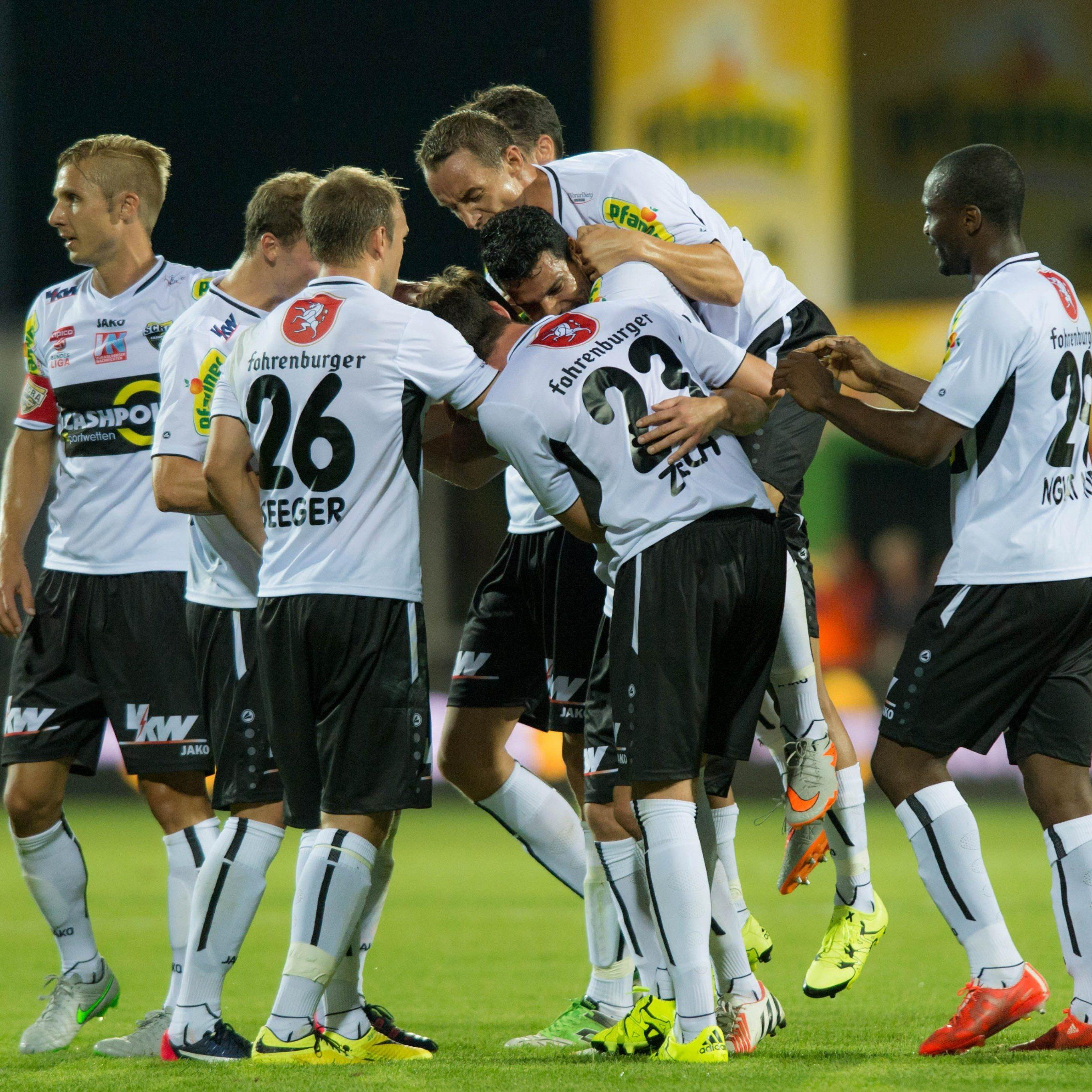 Liga-Aufholjagd der Vorarlberger nach Europacup-Out soll am Sonntag in Wolfsberg beginnen.