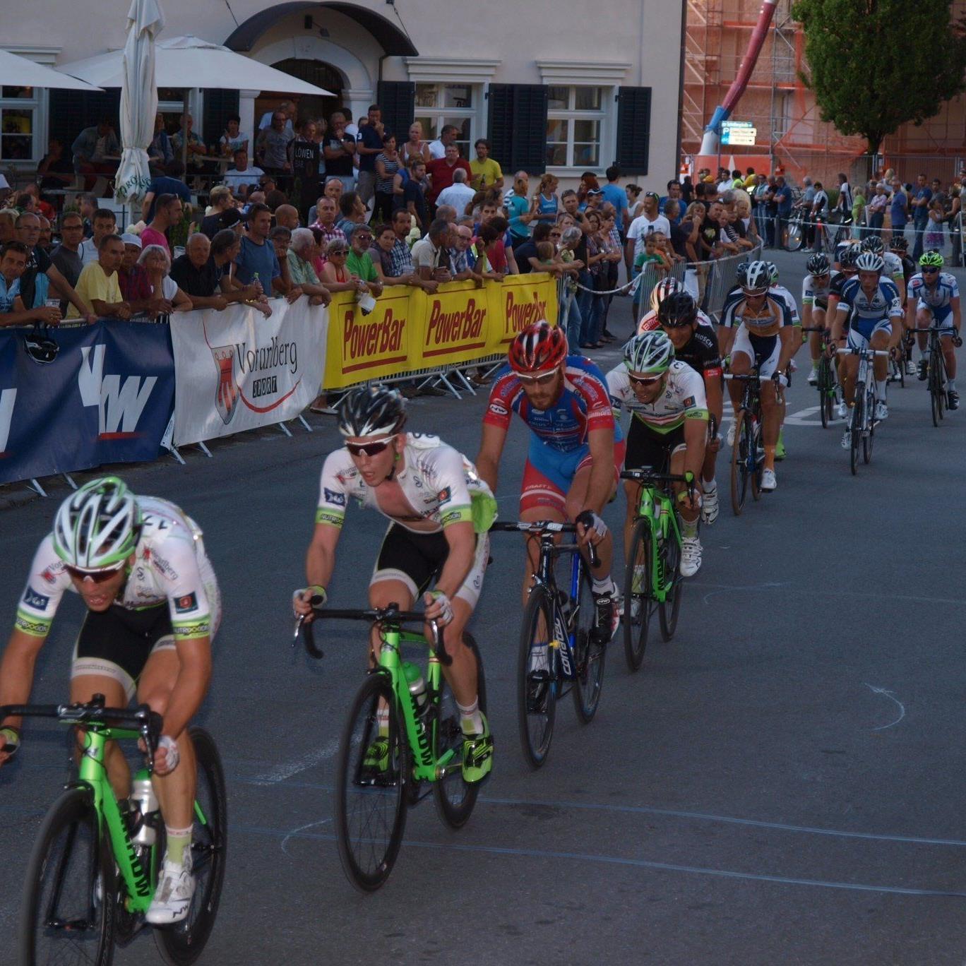 Das Stadtkriterium in Hohenems verspricht wieder Radsport vom Feinsten