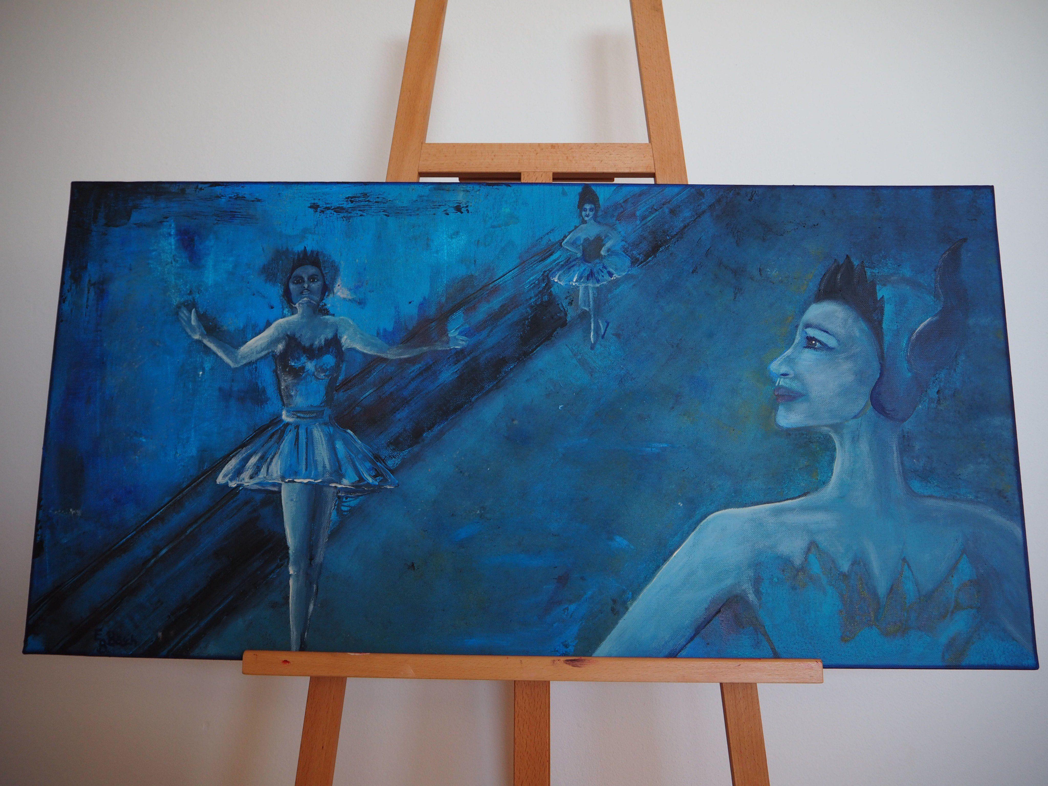 """Bild """"Tänzerinnen"""" von Elisabeth Bösch."""