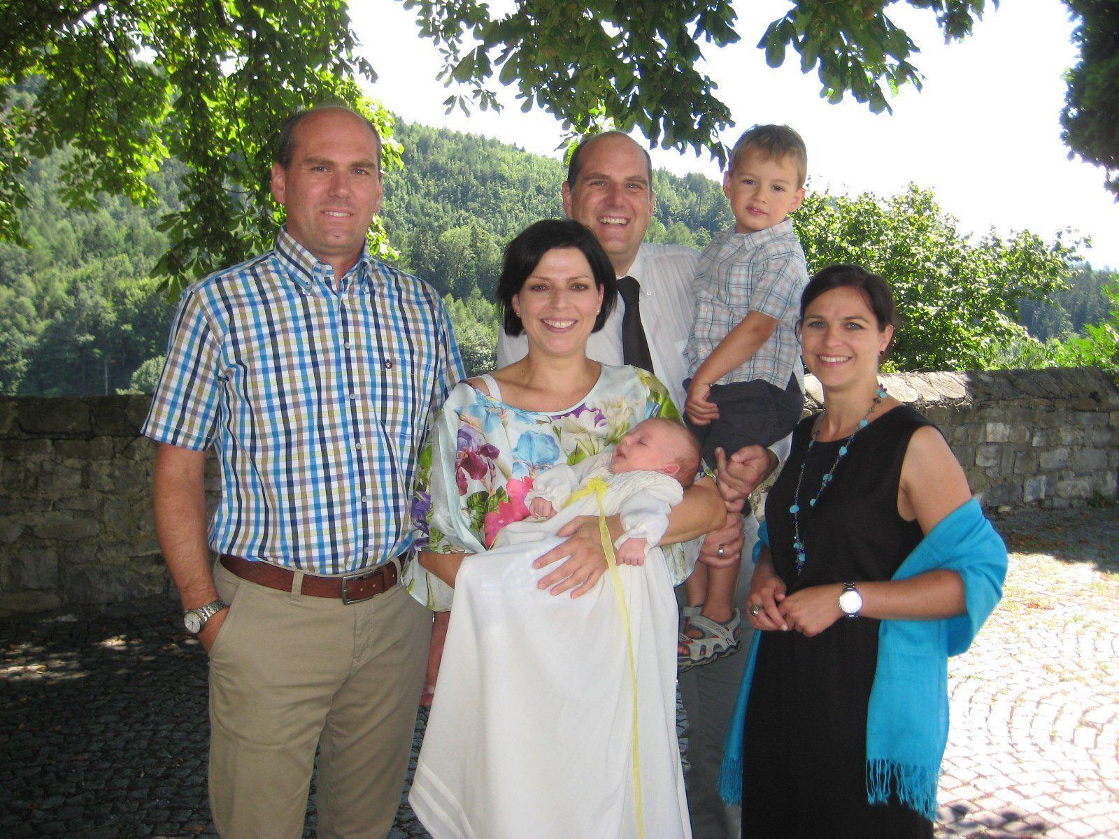 Tobias Reichart wurde getauft.