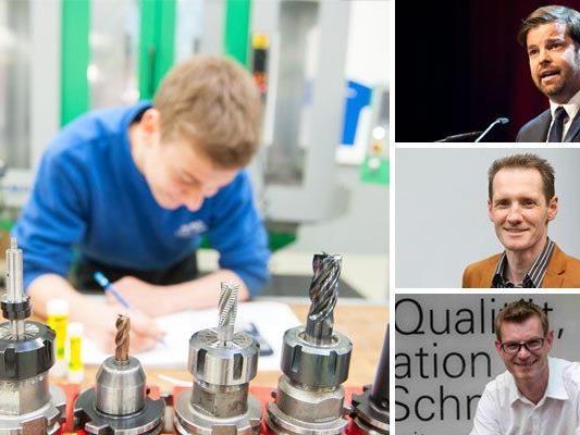 Der Ausbildungsstand der Lehrlinge beschäftigt Vorarlberg.