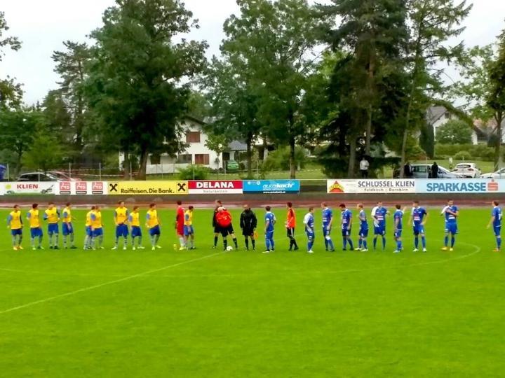 Der Golm FC Schruns verliert zum Saisonstart in Feldkirch
