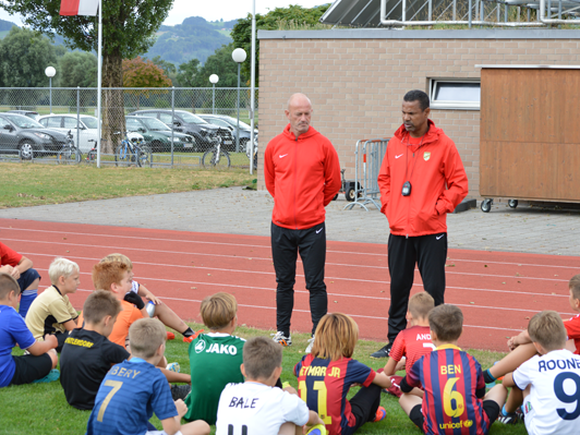 Das Fußballcamp in Fußach besuchten fast 50 Kids