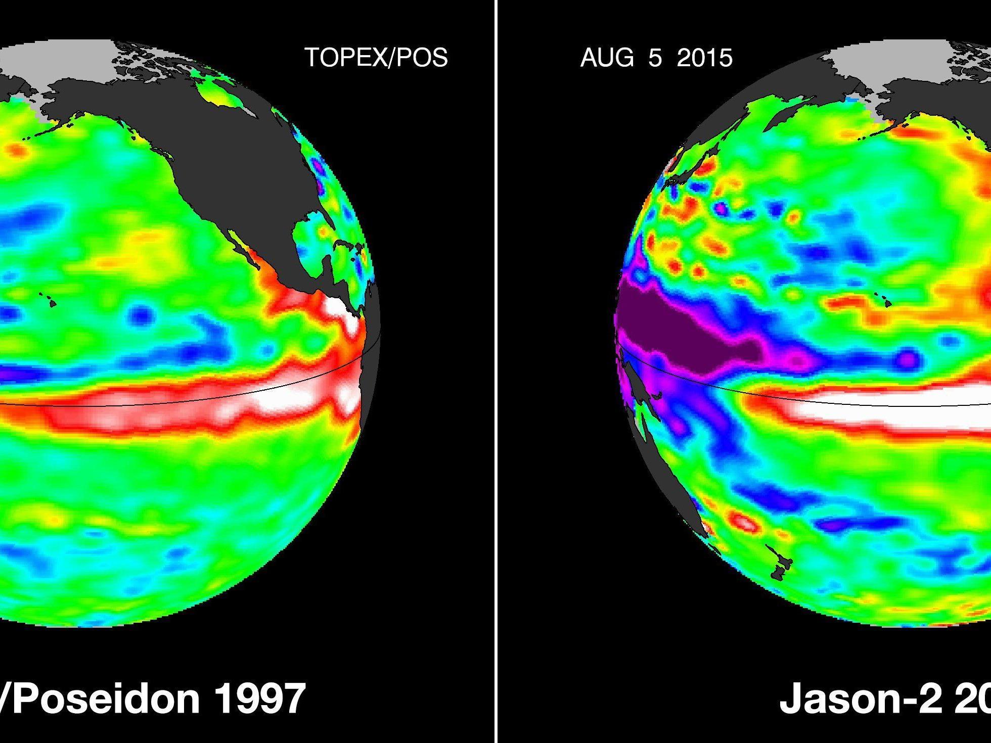 US-Experten: Klimaphänomen El Niño dieses Mal besonders intensiv