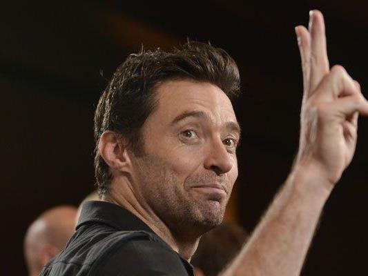 """X-Men""-Star Hugh Jackman fing mit dem Spaß an"