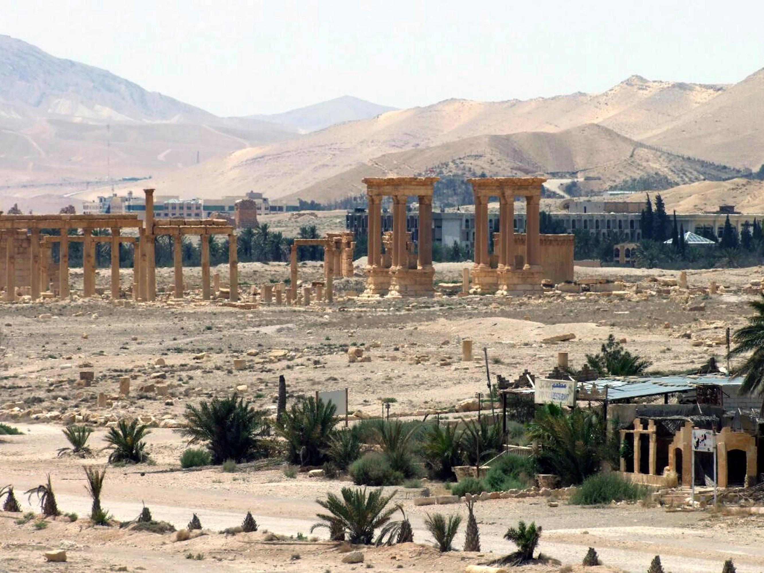 Die Terrormiliz zertörte einen weiteren antiken Tempel in Palmyra.