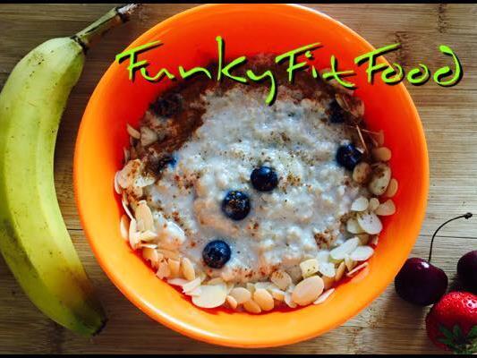 Leckeres Rezept von Funkyfitfood: Hafer-Porridge.