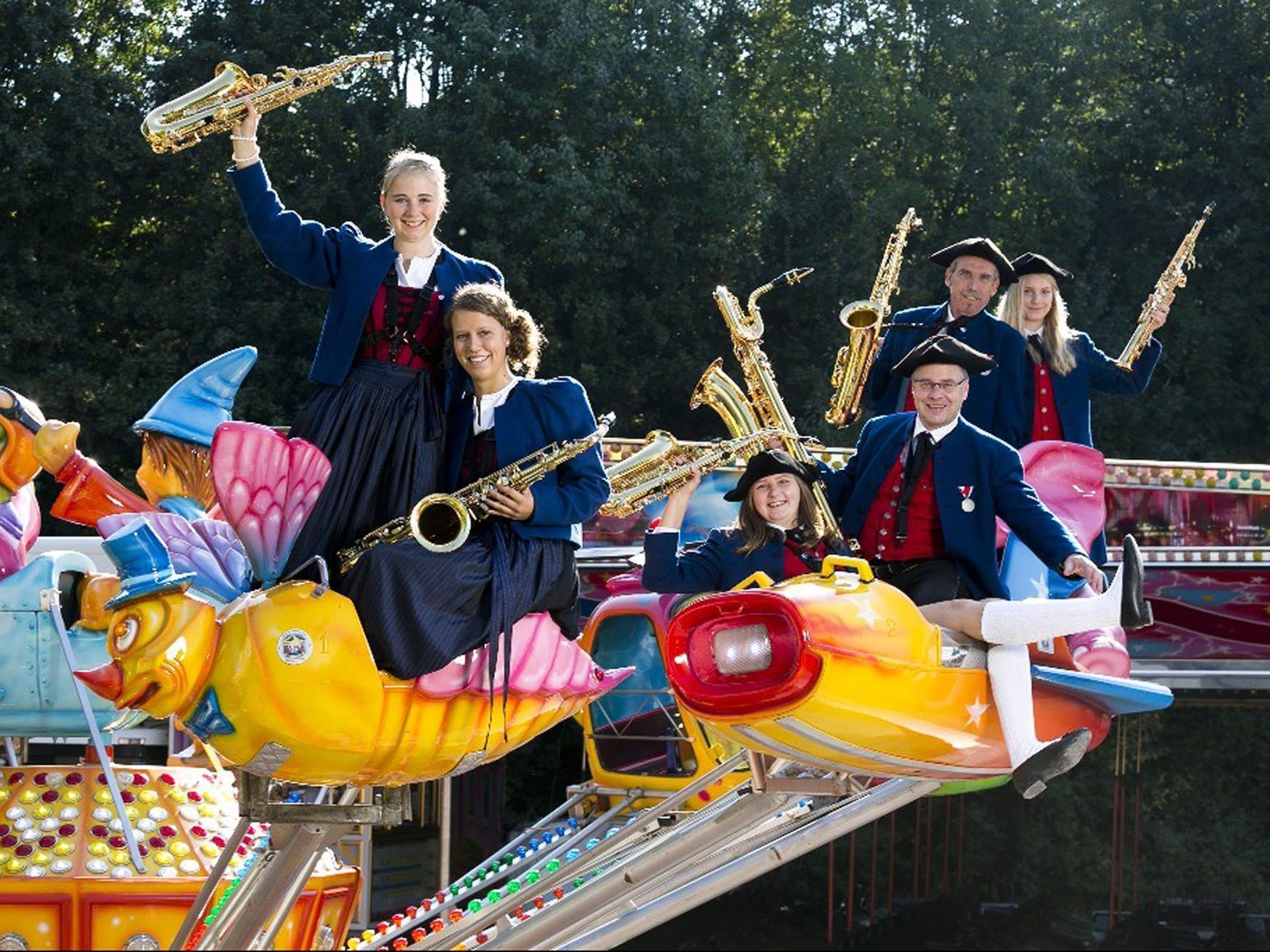 Die Bürgermusik Rankweil lädt am Wochenende zur traditionellen Kilbi