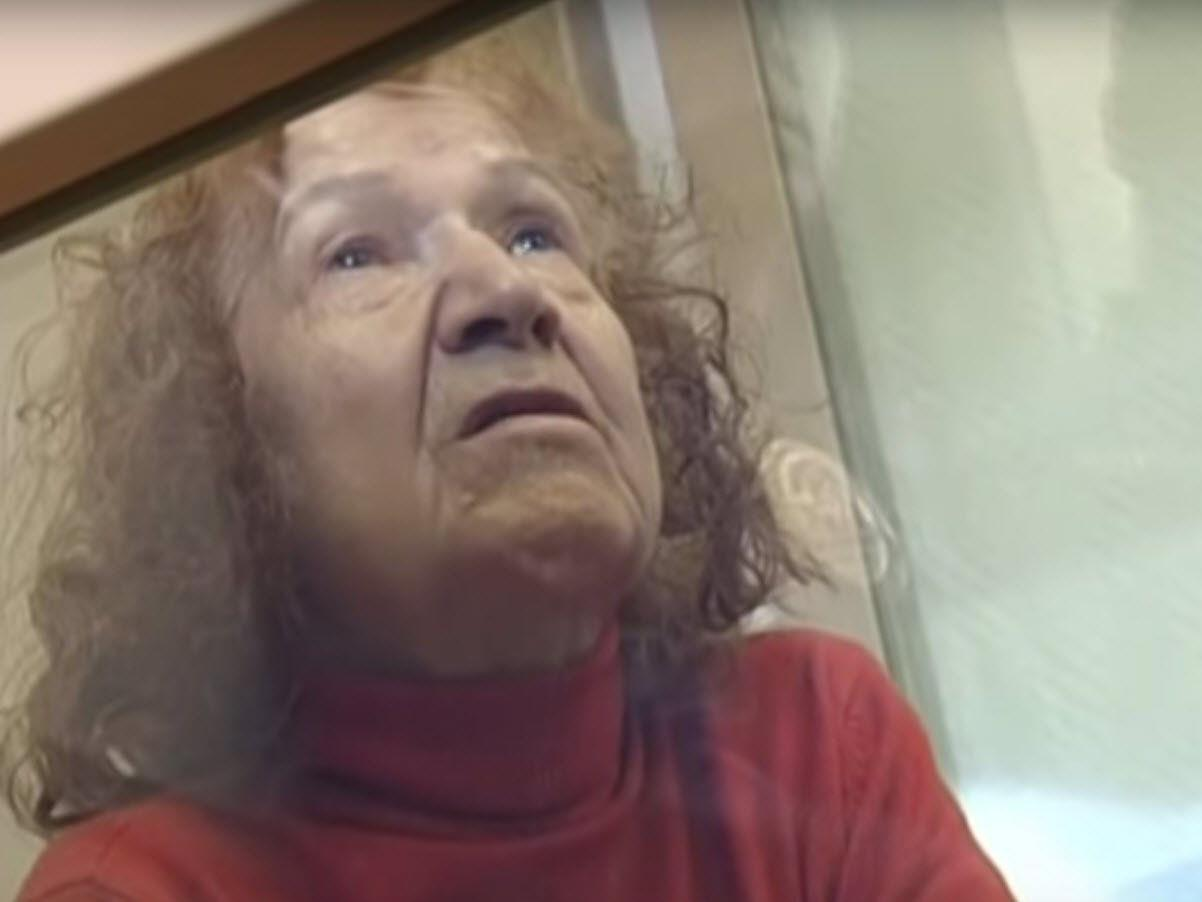 Die 68-Jährige vor dem Haftrichter.
