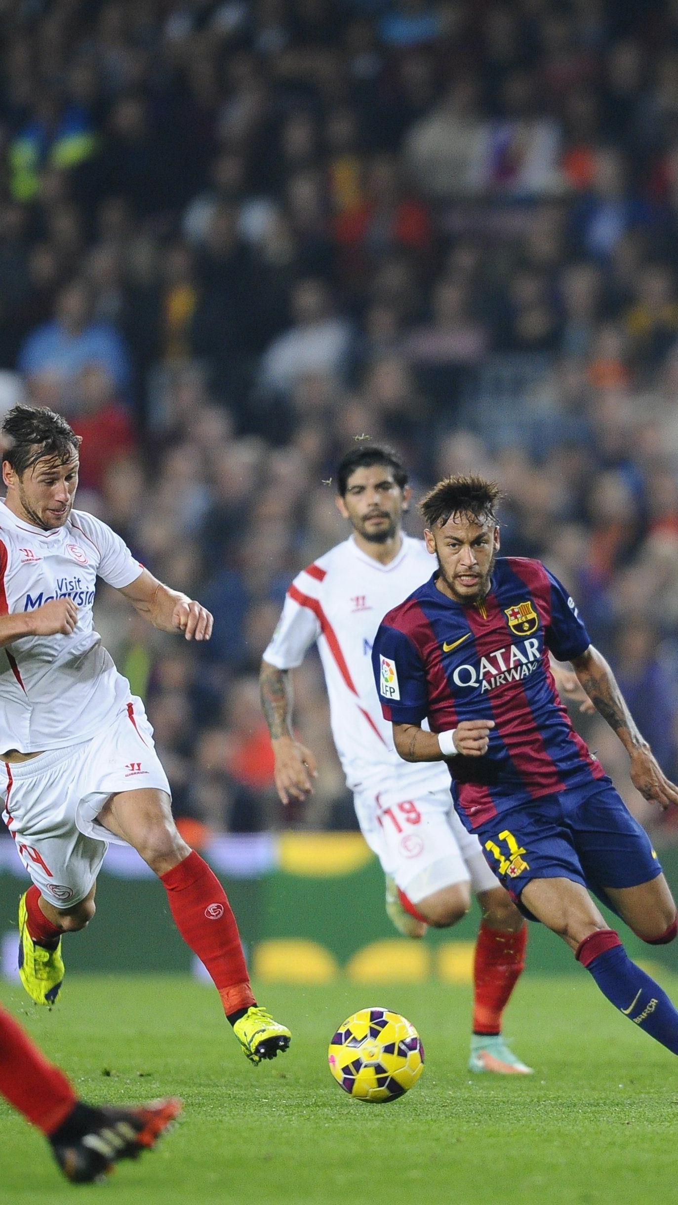 FC Sevilla Gegner im europäischen Supercup - Neymar an Mumps erkrankt.