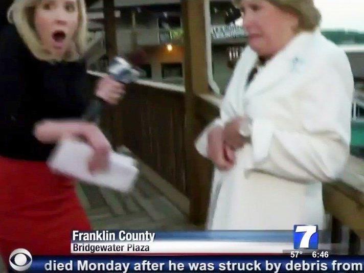 Die tödlichen Schüsse fielen während einer Live-Schaltung.