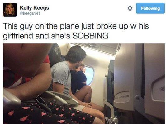 #PlaneBreakUp: Trennung 2.0 auf Twitter.