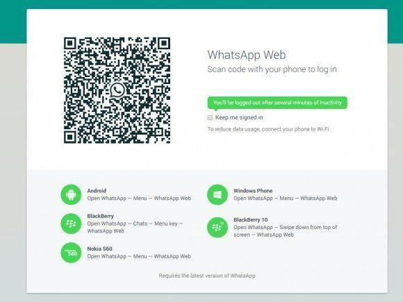 Jetzt also auch für's iPhone: Bequeme WhatsApp-Chats via Computertastatur.