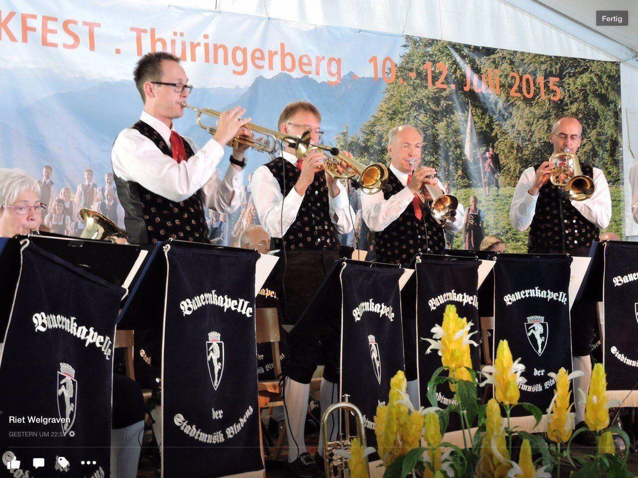 """Die Bauernkapelle lädt zum """"Böhmischen Herbstfest"""""""