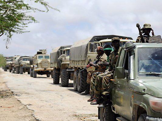 AU-Soldaten gerieten in einen Hinterhalt