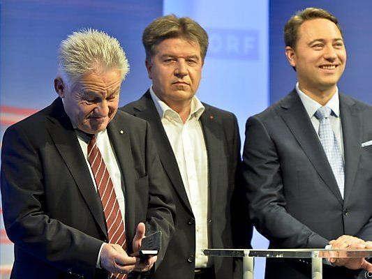 Pühringer, Entholzer und Haimbuchner