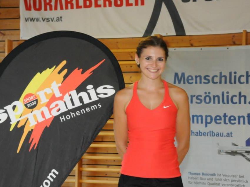 Die Meiningerin Adriana Mathis sorgt für einen neuen Rekord.