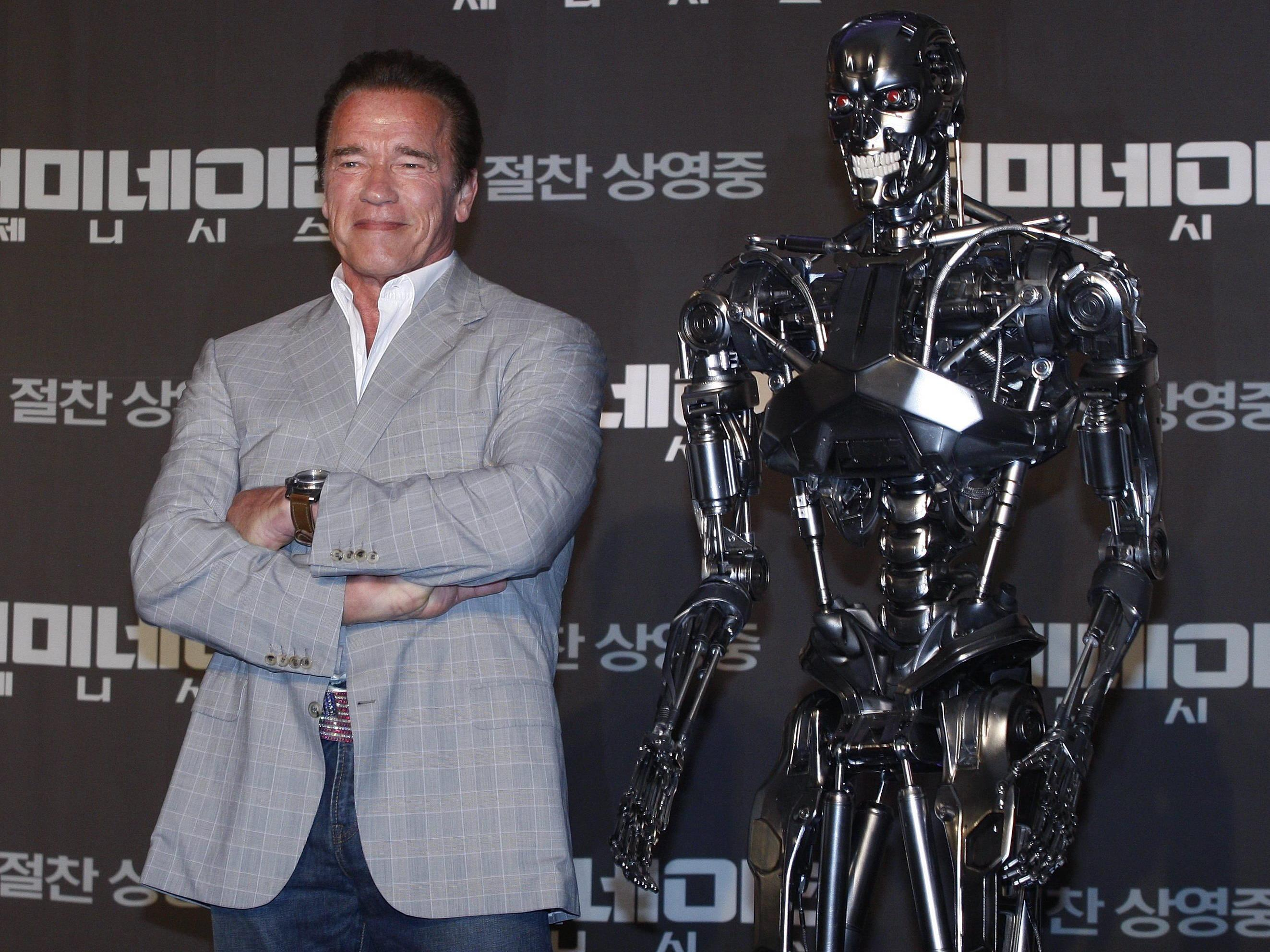 Arnie, lebendig wie eh und je.