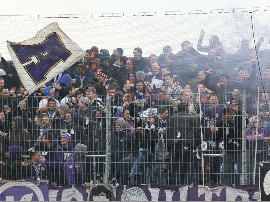 500 Anhänger von Austria Salzburg werden am Freitag abend im Reichshofstadion erwartet.