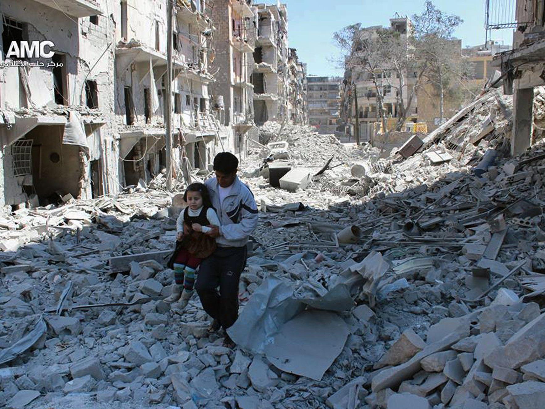 Seit März 2011 herrscht Krieg in Syrien.