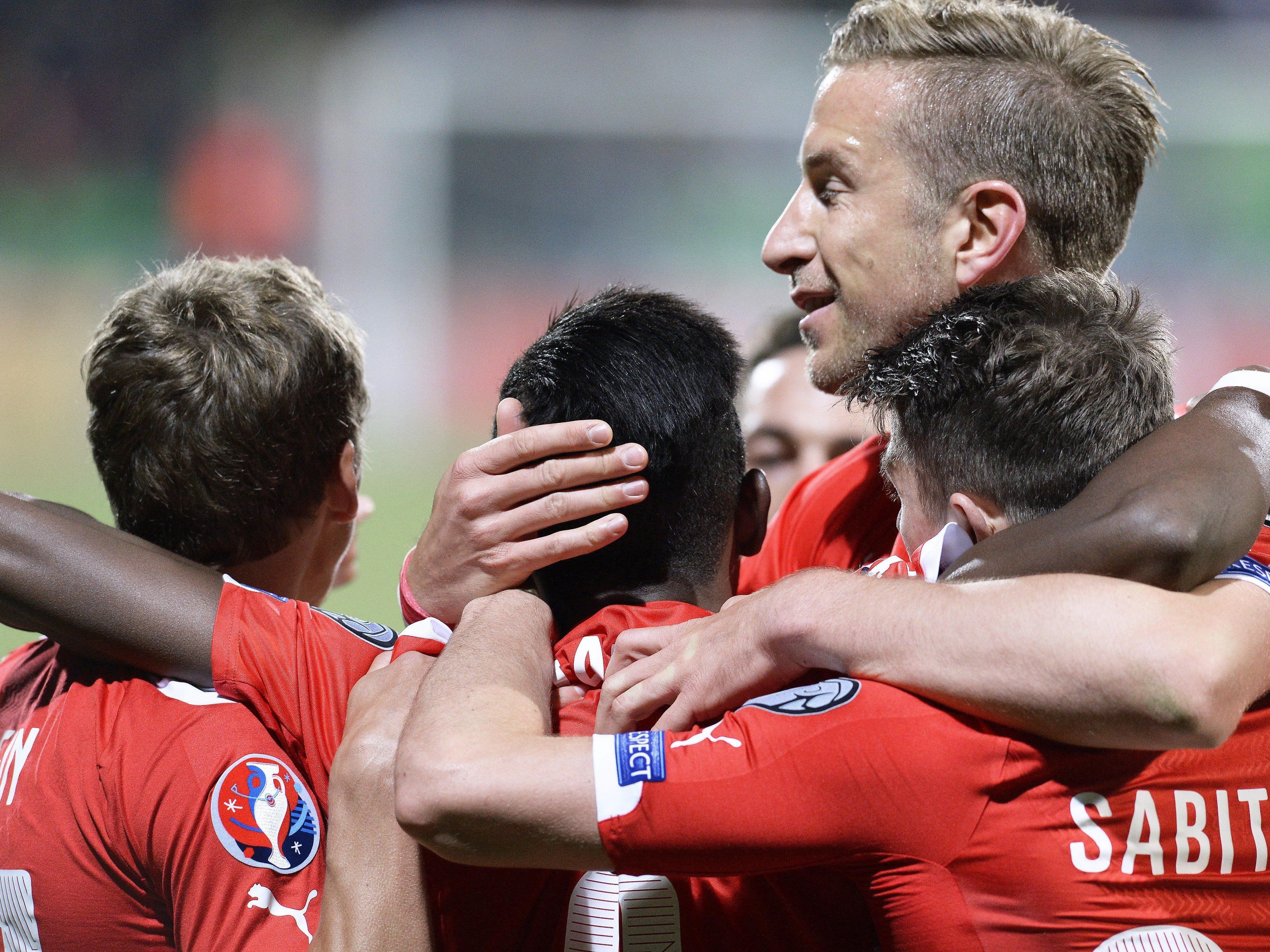 Österreich in Euphorie: Mit einem Sieg über Moldawien wäre eine Teilnahme an der EM 2016 fast sicher.