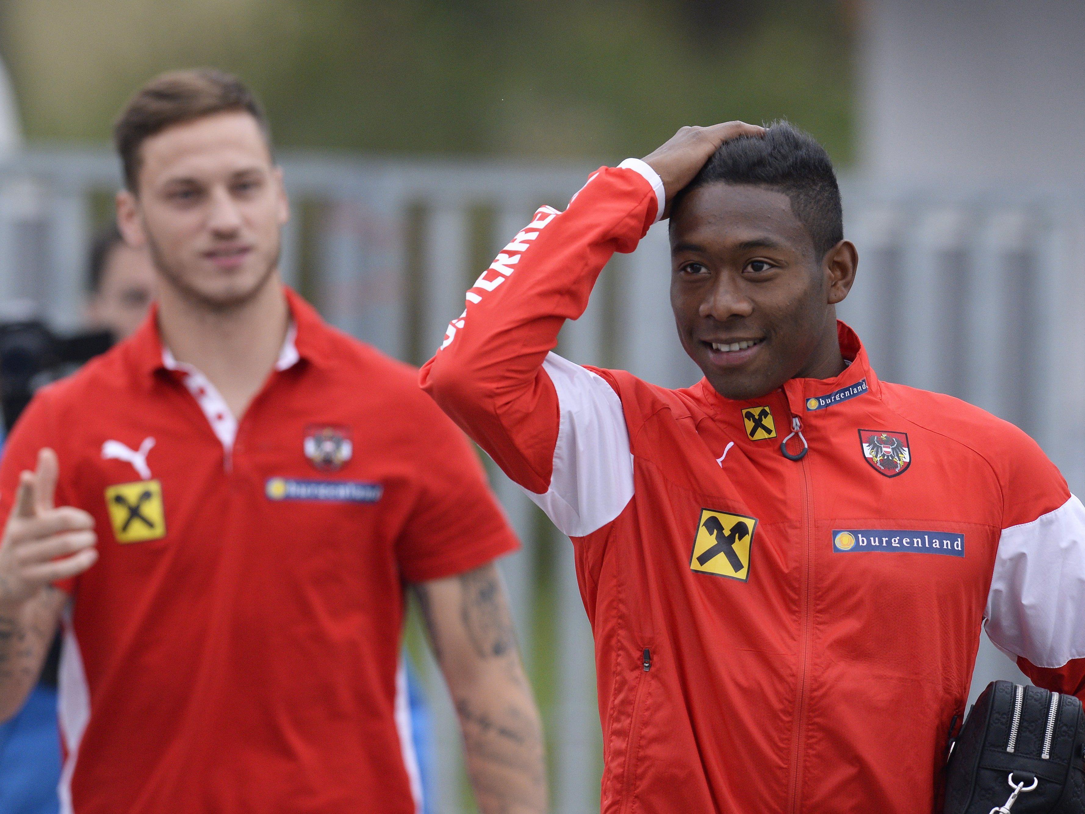 Die Stimmung bei Arnautović, Alaba und Co. beim ÖFB-Team ist hervorragend.