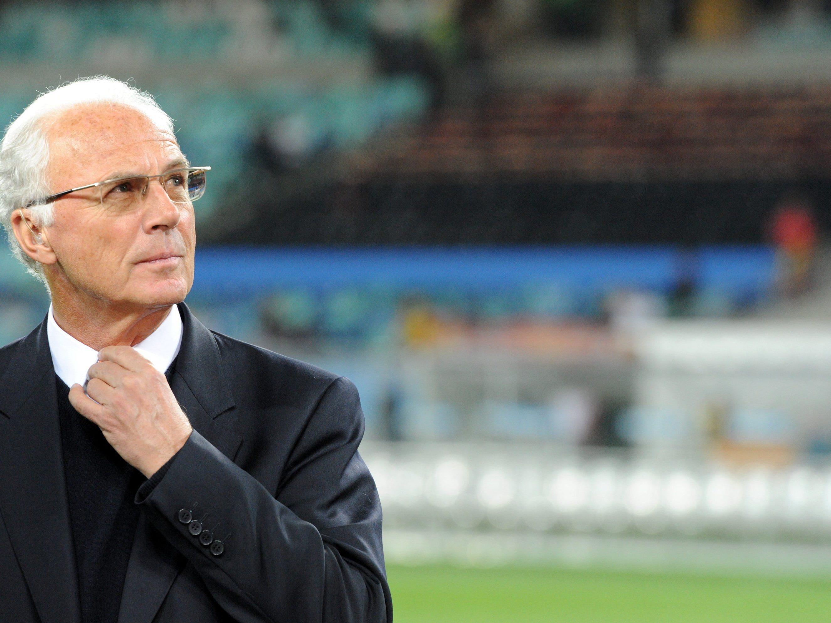 """Franz Beckenbauer: """"Alle Sonntage der Welt sind in mir vereint."""""""