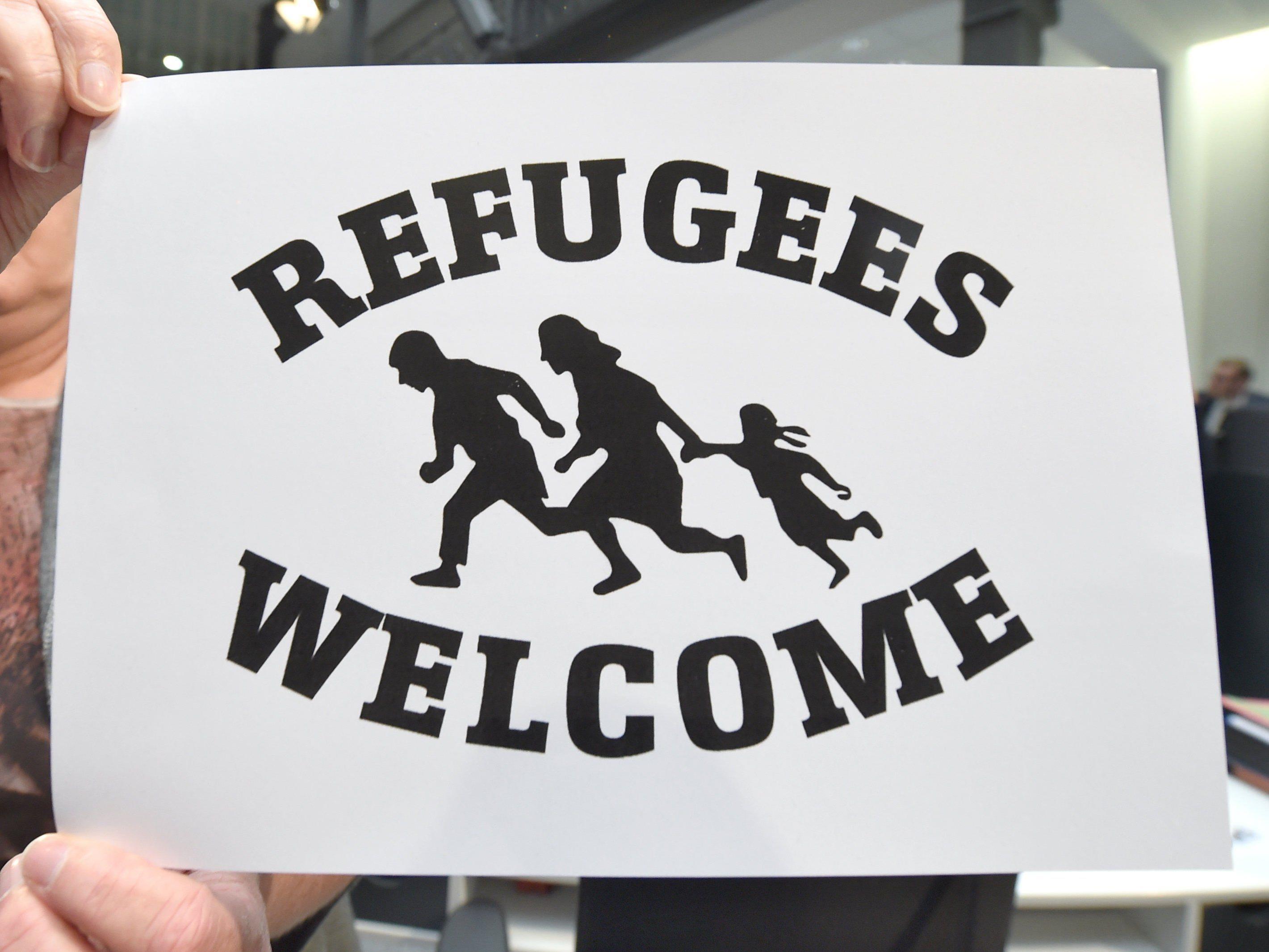 Vorarlberg setzt sich für die Flüchtlinge ein.
