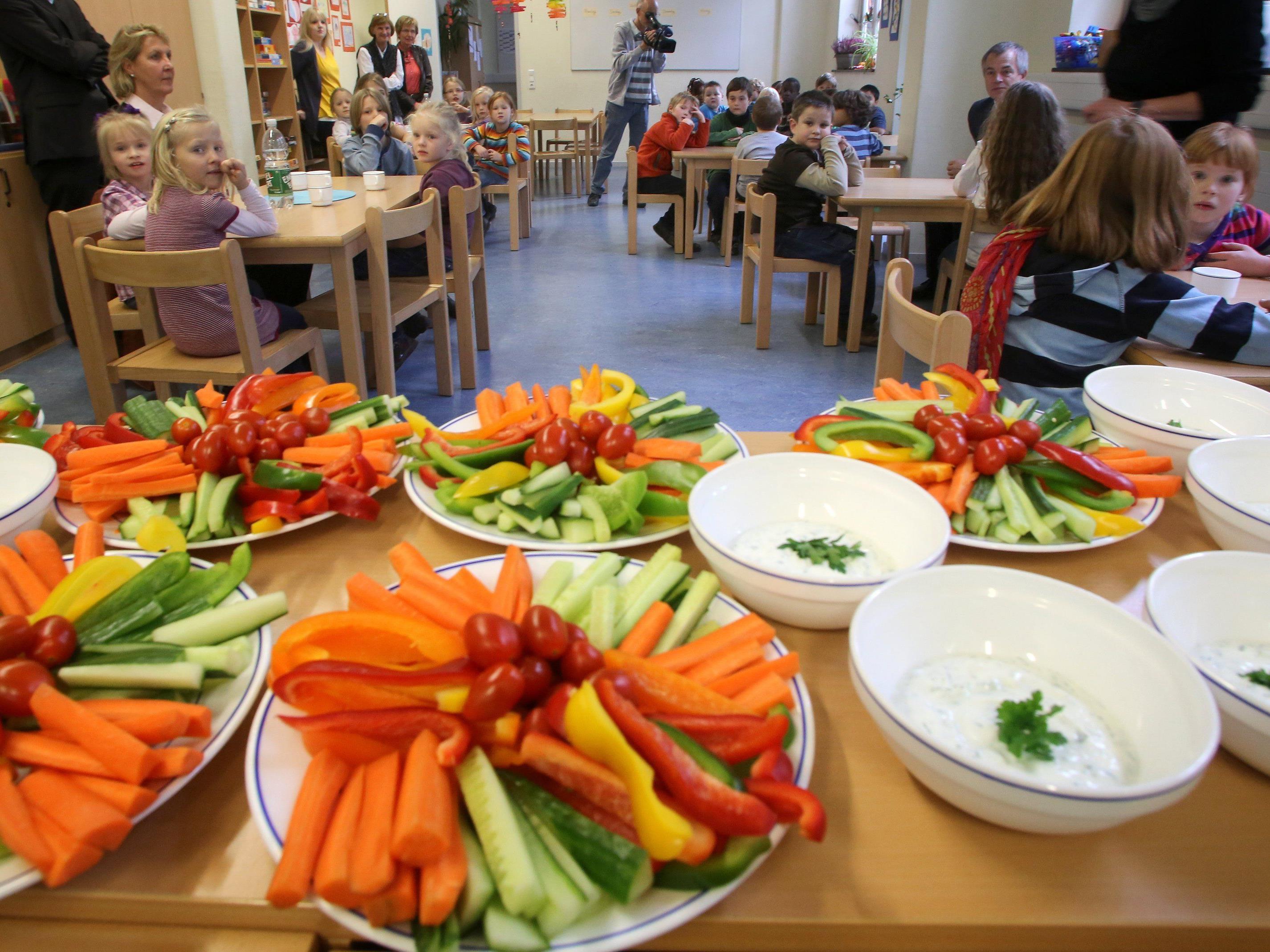 Soll gesunde Ernährung in den Schulunterricht integriert werden?