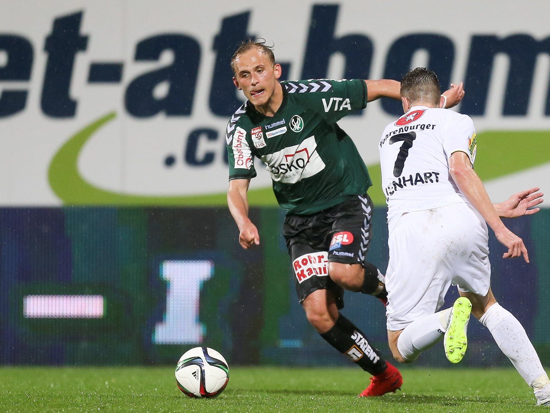 LIVE-Ticker zum Spiel SV Ried gegen SCR Altach ab 18.30 Uhr.
