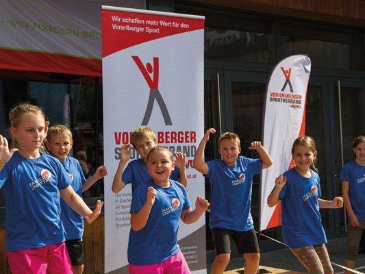 1. ASVÖ Familiensporttag in Bludenz.