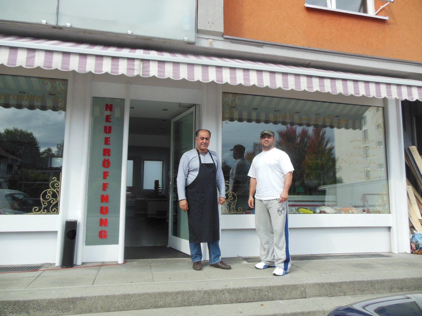Das afghanische Lebensmittelgeschäft in der Rheinstraße 42 in Bregenz.