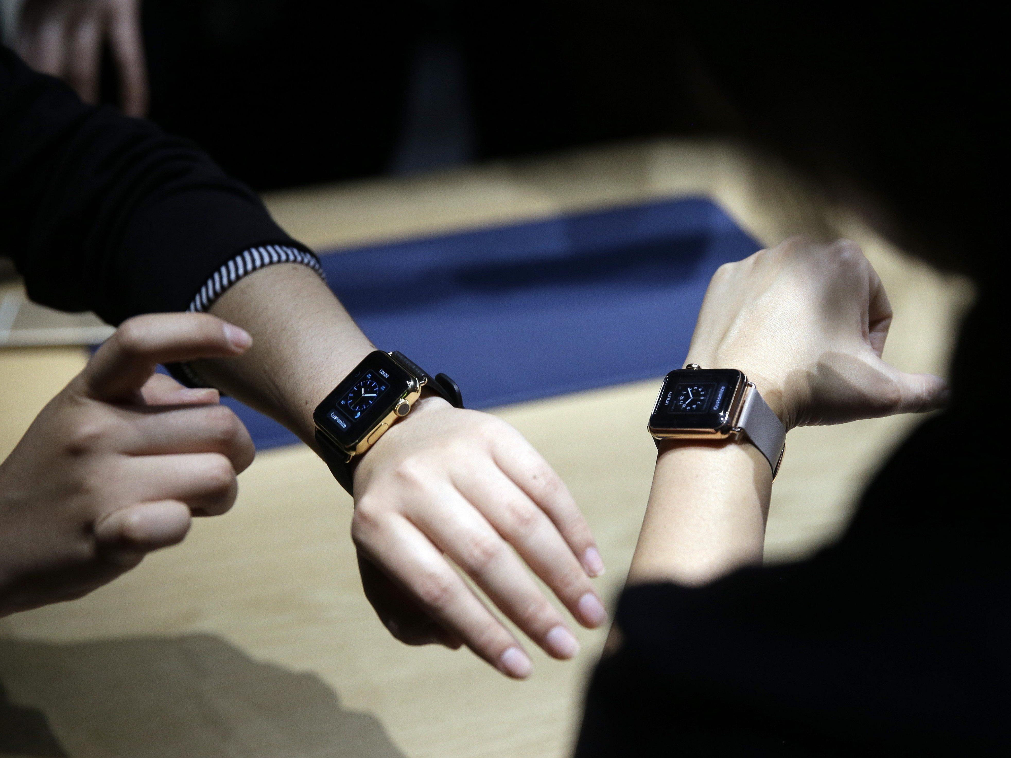 Seit heute in Vorarlberg erhältlich: die Apple Watch.