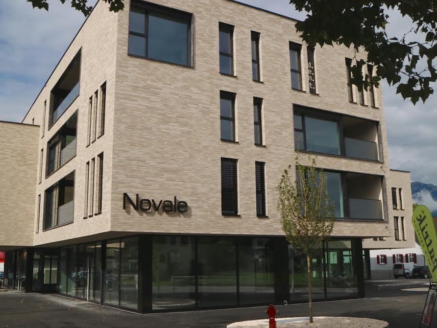 Die aktuelle Ansicht der Baustelle Novale zeigt, dass nicht mehr viel fehlt, bis alles einzugsbereit ist.